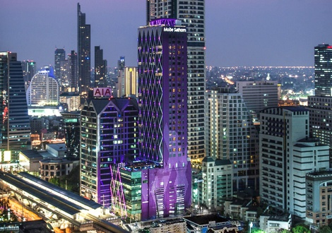 City views Mode Sathorn Hotel Bangkok
