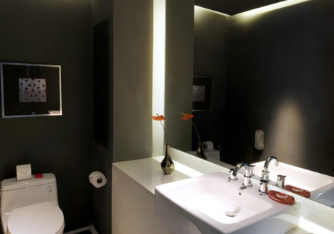 Urban Stylish Bathroom - Mode Sathorn Hotel - Bangkok