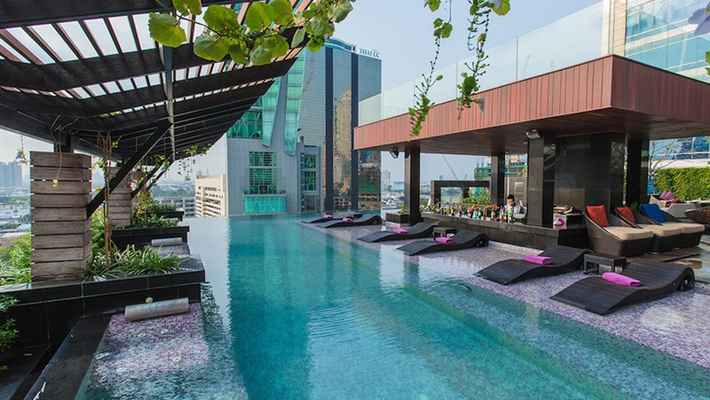 HEATED OUTDOOR SWIMMING POOL Mode Sathorn Hotel - Bangkok