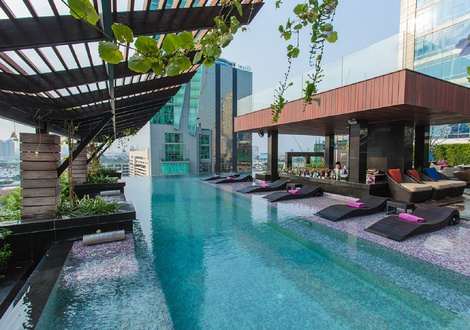 Pool - Mode Sathorn Hotel- Bangkok