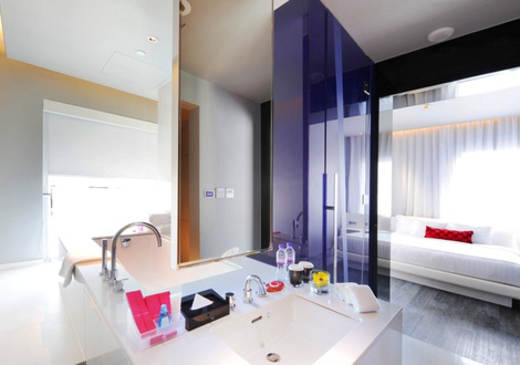 Metropolitan bathroom Mode Sathorn Hotel Bangkok