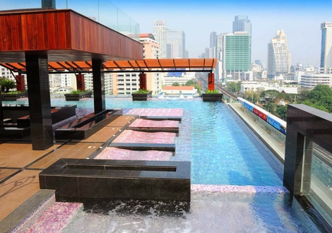 Outdoor Pool - Mode Sathorn Hotel- Bangkok